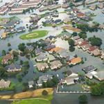 Hurricane Harvey flooding.
