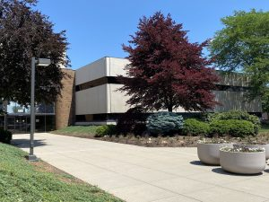 The exterior of Nexus's new 120-seat Maumee office.