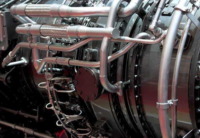 A gas turbine engine