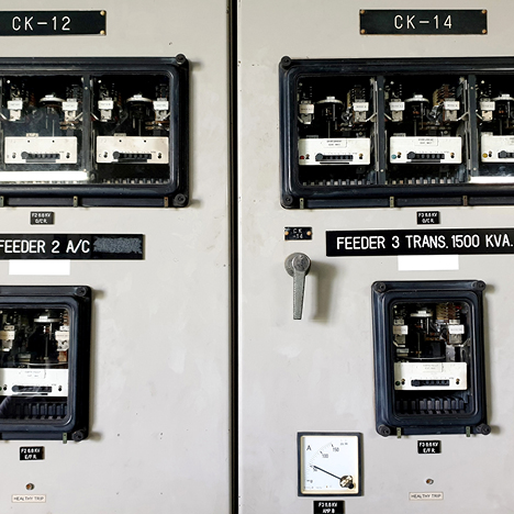An electromechanical relay panel